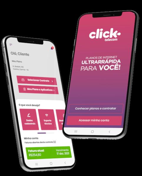 Aplicativo Click Telecom